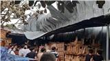 Xưởng gỗ nằm trong khu dân cư ở Đồng Nai bốc cháy dữ dội, nhiều tài sản bị thiêu rụi