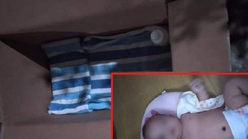 Bé gái 3 tháng tuổi kháu khỉnh bị bỏ rơi trước nhà dân lúc 2 giờ sáng