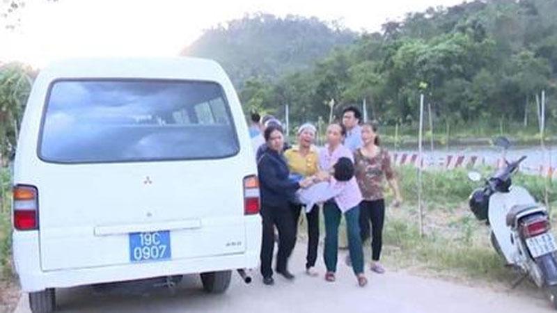 Phú Thọ: Hai cháu bé tử vong dưới hồ Mẫu
