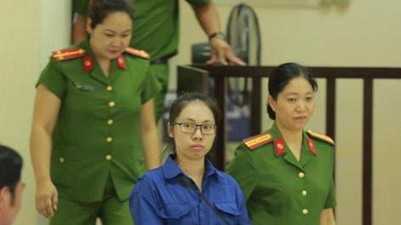 Tuyên án tử hình cô gái đầu độc chị họ vì yêu anh rể ở Thái Bình