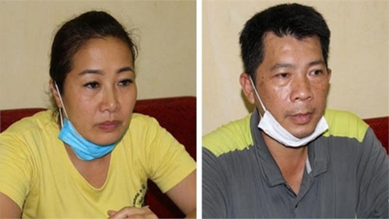 Đôi nam nữ cầm đầu đường dây 'tuồn' người Trung Quốc vào Việt Nam.