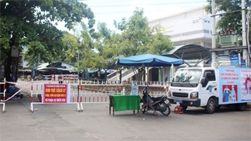 Phong tỏa 2 khu vực tại TP Tam Kỳ để phòng, chống dịch lây lan