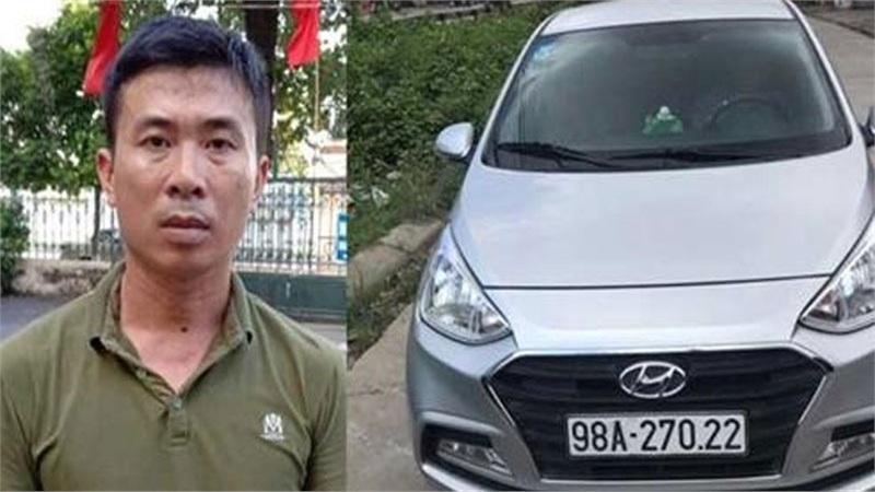 Bắc Giang: Bắt tài xế cố tình lao xe vào CSGT khiến 1 chiến sĩ bị thương