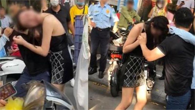 Cô gái đi xe Lexus LX570 bị đánh ghen trên phố: Công an 'dò' số điện thoại 3 người liên quan