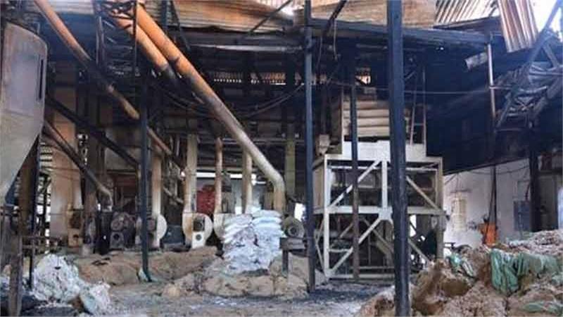 Kiên Giang: Nhà máy xay lúa cháy lớn, thiệt hại 10 tỷ đồng
