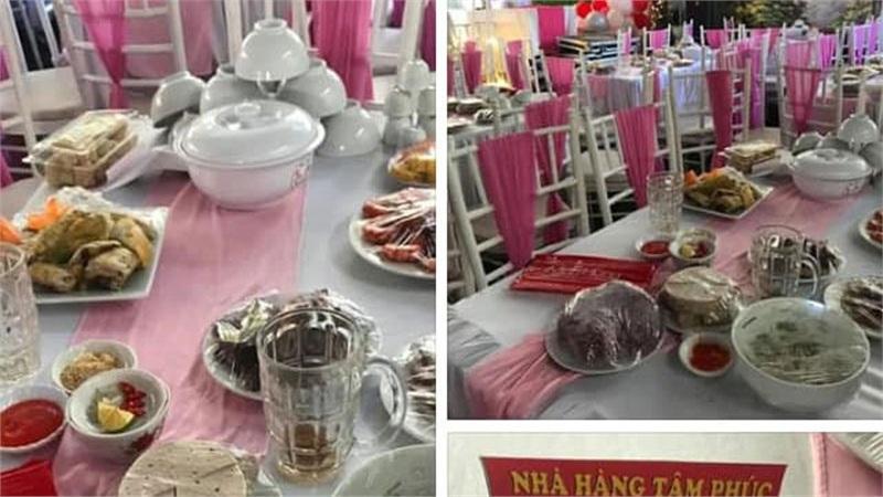 Vụ nhà hàng bị 'bỏ bom' 150 mâm cỗ cưới: Buổi sáng cô dâu còn thử váy cưới, thuê trang điểm