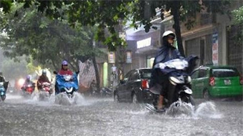 Từ nay đến ngày 10/10, từ Hà Tĩnh đến Quảng Nam có mưa rất to