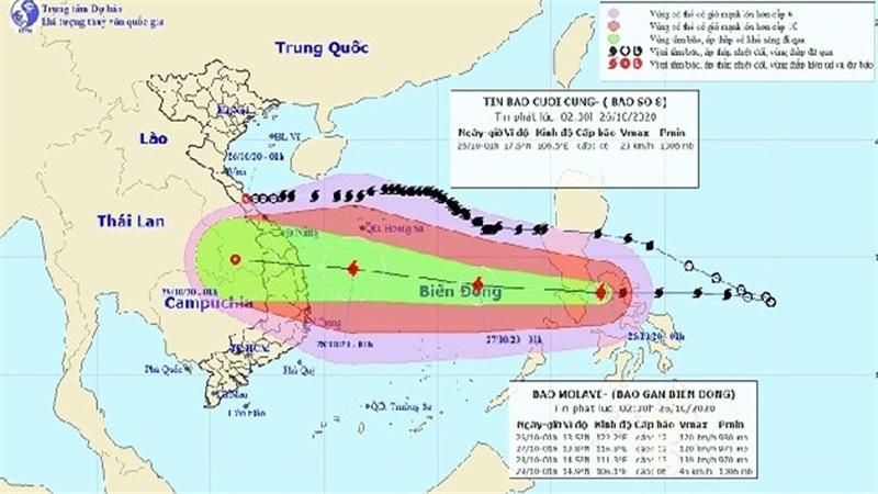 Bão số 9 giật cấp 14 khi vào Biển Đông, khả năng còn mạnh thêm