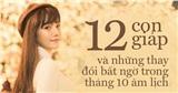 Những thay đổi của 12 con giáp trong tháng 10 âm lịch: Người được quý nhân giúp đỡ giải quyết khó khăn, người vẫn giàu có nhưng tình cảm biến động
