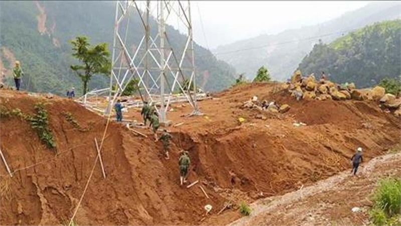 Tìm được 5 thi thể bị vùi lấp do sạt lở đất tại huyện Phước Sơn, Quảng Nam