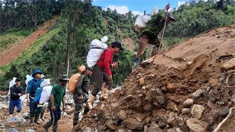 Sạt lở kinh hoàng ở Quảng Nam: Tìm thấy thi thể Phó Bí thư Xã Đoàn