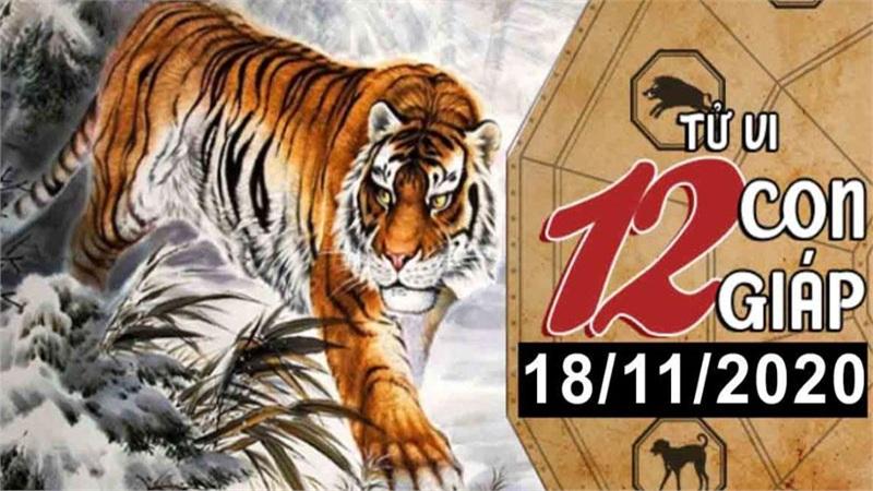 Tử vi thứ 4 ngày 18/11/2020 của 12 con giáp: Dần dễ bị trắng tay, Ngọ tiền bạc nhiều như nước
