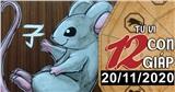 Tử vi thứ 6 ngày 20/11/2020 của 12 con giáp: Tý dễ dính họa mất tiền, Tỵ vượng vận đào hoa