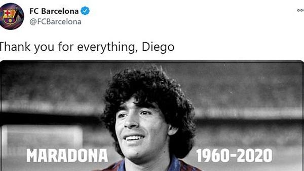Các siêu sao thế giới tiếc thương huyền thoại Maradona: Vua bóng đá Pele hẹn chơi bóng cùng 'Cậu bé vàng' trên thiên đàng