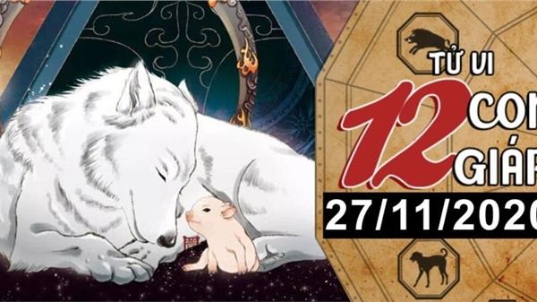 Tử vi thứ 6 ngày 27/11/2020 của 12 con giáp: Tuất được quý nhân giúp đỡ, Hợi có lộc bất ngờ