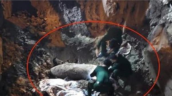 Hà Nội: Phát hiện 1 quả bom chưa phát nổ, phong tỏa 'khẩn' phố Cửa Bắc