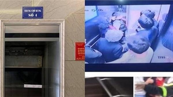 Giây phút hoảng loạn kinh hoàng của 11 người gặp nạn rơi thang máy ở chung cư, nhiều người bị thương
