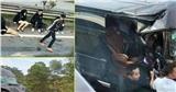 Hiện trường kinh hoàng vụ xe Limousine đâm vào xe container khiến 8 người nhập viện