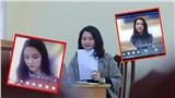 Dạy học online mùa COVID-19, giảng viên Học viện Báo chí và Tuyên truyền khiến sinh viên 'đứng ngồi không yên' bởi vẻ đẹp tựa 'nữ thần'