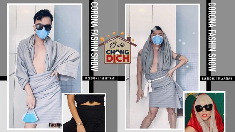 Ở nhà tránh dịch, chàng trai mở sàn diễn 'Corona Fashion Week' thần thái ngút trời