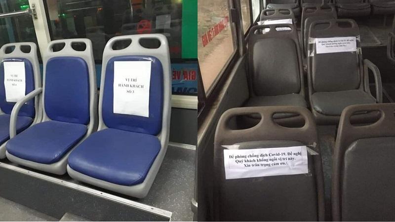 Xe buýt hoạt động trở lại: Ngồi cách nhau 1 ghế, từ chối phục vụ nếu trên xe quá 18 người