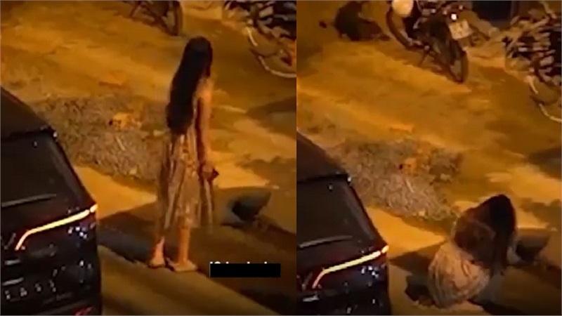 Clip: Cô gái đi ôtô đến tận nhà tình trẻ, gào thét 'chị yêu em' rồi bị chàng trai hắt thẳng chậu nước xuống đầu