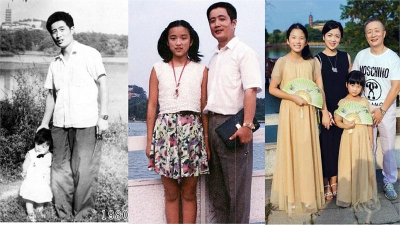 Ông bố có 'truyền thống' chụp hình cùng con gái tại một địa điểm suốt 4 thập kỷ để lưu lại quá trình trưởng thành của con
