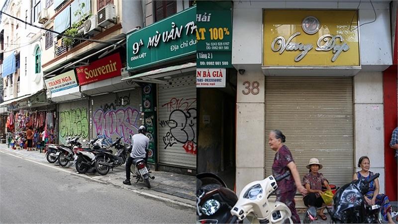 Hà Nội: Kinh doanh ế ẩm, nhiều cửa tiệm đóng cửa hoặc chuyển sang bán mặt hàng khác cầm cự qua ngày