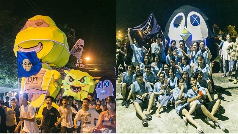 'Chạy đèn' - nét đẹp truyền thống mỗi dịp trăng rằm của học sinh phố núi Kon Tum