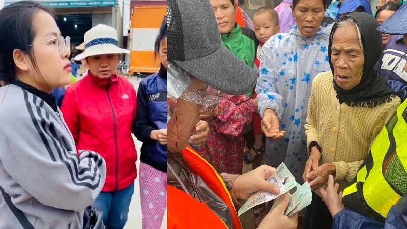 Người vợ giấu chồng đem 1,5 tỷ giúp đỡ bà con miền Trung: 'Không có chuyện vợ chồng bỏ nhau, anh ấy hoàn toàn ủng hộ tôi'
