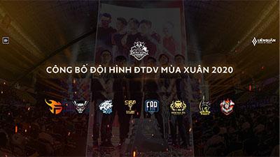 Liên Quân Mobile: Các đội tuyển chính thức công bố đội hình cho Đấu Trường Danh Vọng mùa xuân 2020