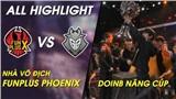 LMHT: FunPlus Phoenix đại thắng trước G2 Esports, chính thức nâng cúp vô địch CKTG 2019