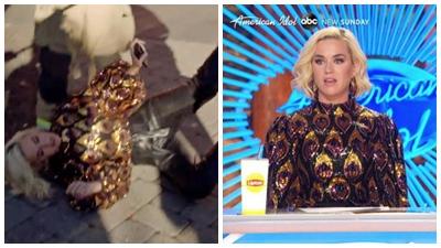 Katy Perry ngất vì choáng váng trong sự cố chưa từng xảy ra trên trường quay 'American Idol'