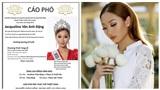 Thương xót đám tang của Hoa hậu Việt Nam Toàn cầu 2017 sẽ không có khách tới thăm viếng