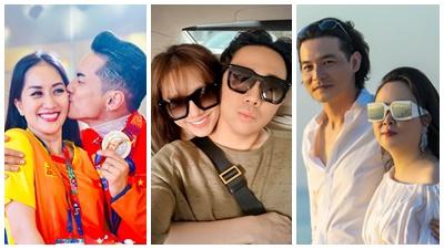 Những sao nam Việt bị 'ném đá', mỉa mai khi lấy vợ hơn tuổi sau bao năm vẫn hạnh phúc bên nhau