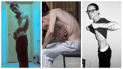 Những nam tài tử vạn người mê gây sốc với thân hình gầy trơ xương như bóng ma vì vai diễn