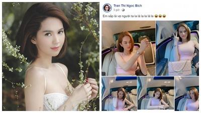 Chị gái Ngọc Trinh 'úp mở' chuyện nữ hoàng nội y sắp sửa 'là vợ người ta'?