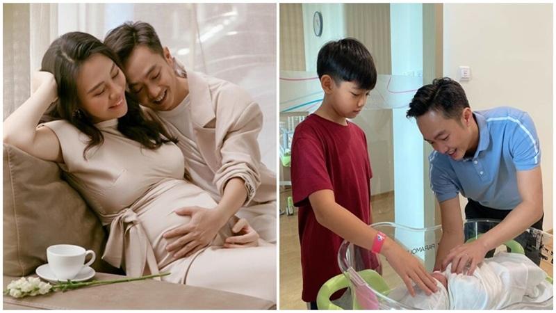 Sau 1 năm kết hôn, Đàm Thu Trang chính thức sinh con gái đầu lòng cho Cường Đô La