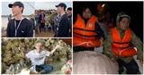 Gia đình Hoa Dâm Bụt khi đi cứu trợ lũ lụt miền Trung: Erik hát động viên, Hòa Minzy đưa thai phụ đi cấp cứu