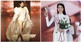 Lộ ảnh quá khứ của Á hậu 2 Hoa hậu Việt Nam 2020 trong đêm hội chân dài của 'ông bầu' Khắc Tiệp