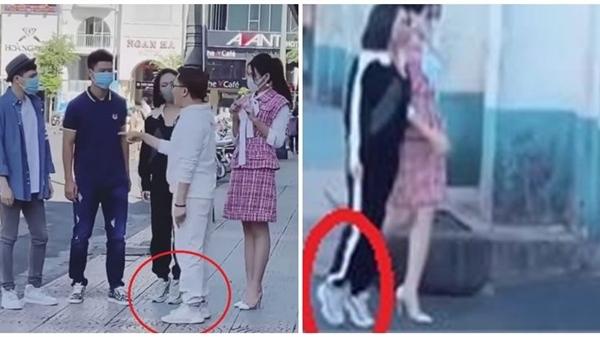 Bái phục cách 'hack' chiều cao lầy lội của Diệu Nhi khi đứng cạnh Hoa hậu Đỗ Thị Hà