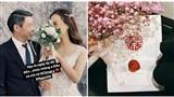 Tiết lộ thiệp cưới của NSND Công Lý và bạn gái kém 15 tuổi - Ngọc Hà