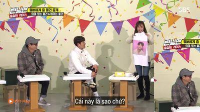 Jeon Somin lại bị chỉ trích khi cho áo in hình Jong Kook vào danh sách món đồ muốn bỏ đi