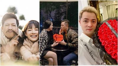 Từ trầm trồ đến ngưỡng mộ những món quà valentine của sao Việt
