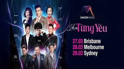 Rộ thông tin Jack sẽ biểu diễn tại show ở Australia có Đan Trường, Việt Hương
