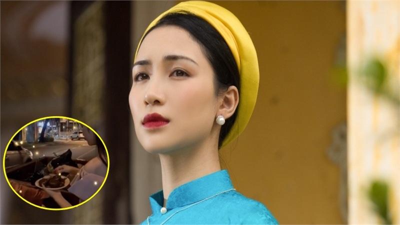Hòa Minzy bị cho là mất vệ sinh khi tặng bánh cho người lao công