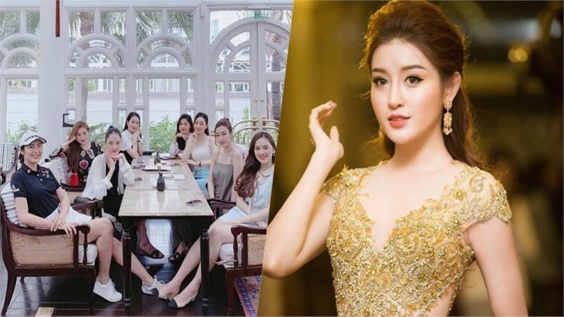 Lần nào hội Hoa hậu - Á hậu Hà Thành tụ tập đều không có mặt Huyền My, phải chăng không được lòng chị em?