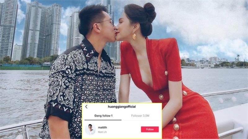 Hương Giang chính thức gia nhập hội 'chỉ theo dõi mình anh', tài khoản 3 triệu follow mà chỉ quan tâm Matt Liu