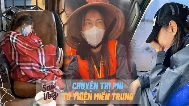 Hành trình cứu trợ miền Trung và hàng loạt những câu chuyện 'dở khóc dở cười' của sao Việt