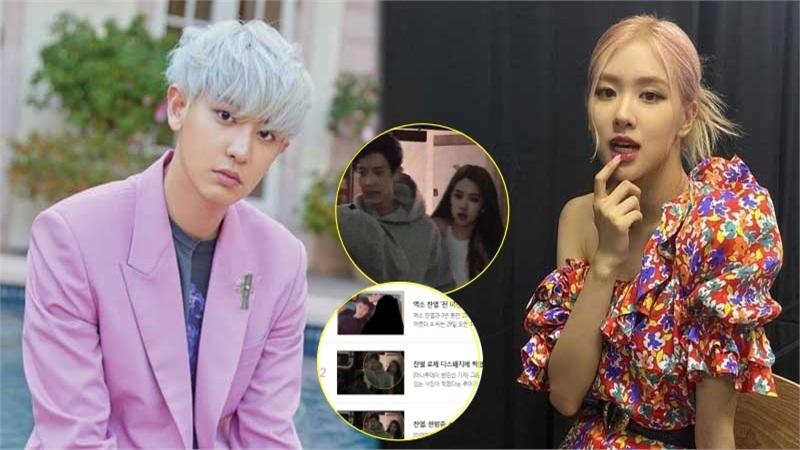 Rosé (BLACKPINK) 'nằm không dính đạn' vì bị ghép ảnh hẹn hò với Chanyeol (EXO), Dispatch cảnh báo sẽ kiện người phát tán ảnh